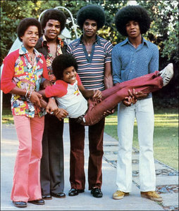 How many albums did The Jackson 5 have?