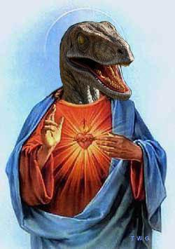 Raptured? Rapture? Raptor? RAPTOR 예수님 IT ALL MAKES SENSE HE'S RETURNING ;_;