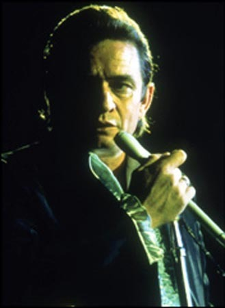 This guy, which in case Ты don't recognize the picture, it's Johnny Cash