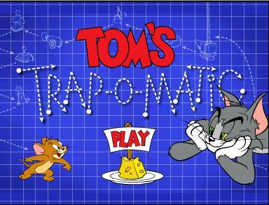 Tom cat and Jerry mouse,i think!