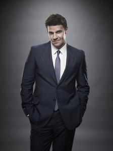 """Seeley Booth. Stupid, I know! But since I watched that episode of Кости where he says """"Bow Chicka wow wow"""" everytime I hear that, he's the first thing that comes to my mind LOL."""