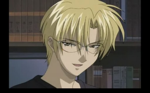 Ok first of all......WHAT THE HELL IS YOUR PROBLEM WITH ANIME!!! It is basically part of my homeland traditions now! It is one of the biggest sources of income for my people! SO, SHUT THE F*** UP! Oh and my fav character is Yuki eiri from Gravitation :P