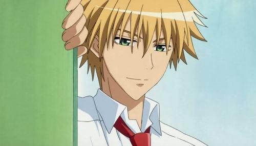 My first crush was Gary Oak from Pokemon ^^ Now...my crush is...I guess Usui Takumi from Kaichou Wa Maid-sama. He super cute~ ^///^