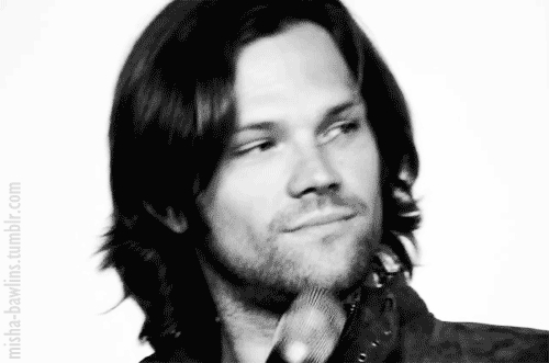Take Dean. THIS is the face i wont. Just that look in his eyes...i even don't dare to think what would it be to have him day-night close to you. Extremely seductive and gorgeous man.