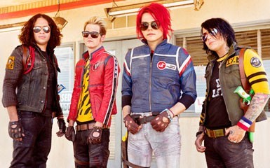 My Chemical Romance all the way <3 <3 <3