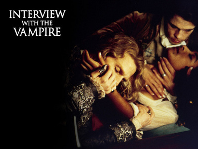 my 가장 좋아하는 one is 'interview with the vampire'..