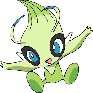 mine is Celebi. :)