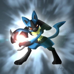 My sister eeveelutions1 loves eevee, my step sister China-chan loves charazard, and my mom is also a pokemon fan, but I forgot her favorite pokemon. I like pokemon too, biologically I am male, but I tend to be more feminine physiologically, so I will answer. I love Lucario.