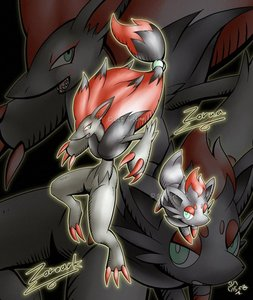 well im a girl and my favorite pokemon is zoroark