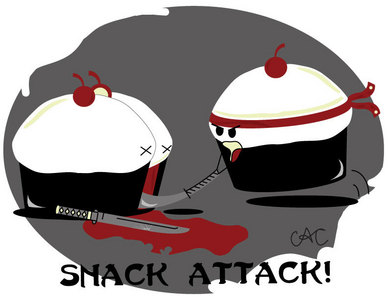 My カップケーキ are better.... they ninjas!!! HAPPY BIRTHDAY! :)