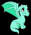 I`m little, cute, green, baby dragon from amazing WonderLand in the forest near ur house!