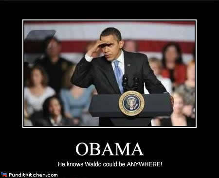 Hold on a sec, Obama's on it!