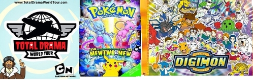 do you like total drama or pokemon or digimon the best