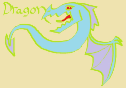 Write the word Dragon on paint and draw a dragon if आप want with it and post it here and don't ask why I'm soing this I'm bored