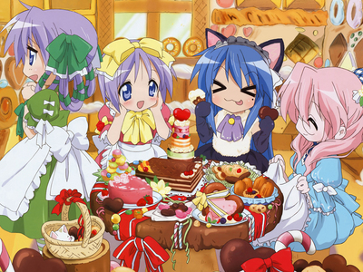 From Lucky Star!!!