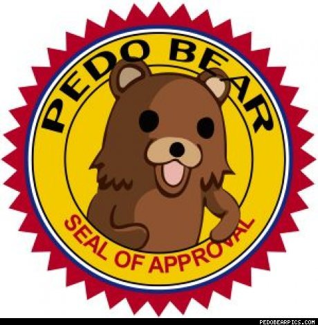 Oh wow, that's quite the warning to all the would-be pedafiles. Watch out, Pedobear!!! lol