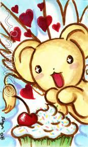 Kero loves him some sweets!