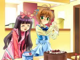 Sakura And Tomoyo of Cardcaptor Sakur