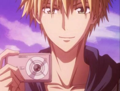 same as the questioner it was.. Usui Takumi!!!!!!! i really Cinta him!