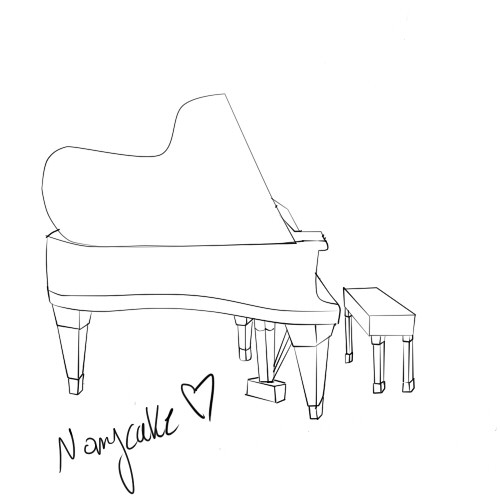 This is my piano.