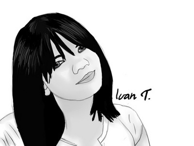 Do bạn know the NomyCake lady? The one that lives on fanpop Lane? Well yeah, this is my drawing of her.