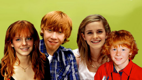 Hermione and ron and harry kids - Ron weasley and hermione granger kids ...
