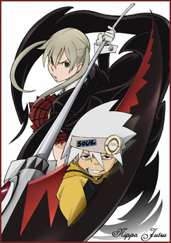 I got one of my user icons. Maka and Soul from Soul Eater.