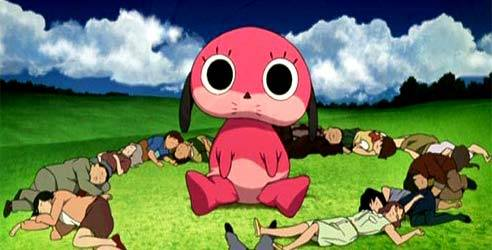I would like for them to bring back Paranoia Agent and S-Cry-ed! (Pic. from Paraonia Agent...a very creepy show!)