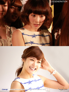 I think ,Tiffany has the most beautiful smile...