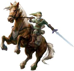 Link from The Legend of Zelda. For me he's the best!