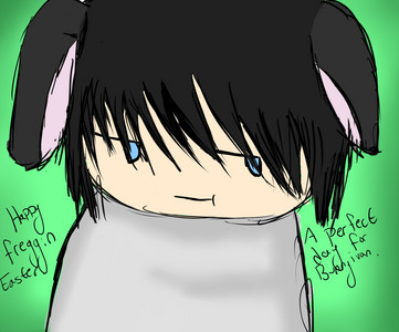 A chibi version of my boyfriend Ivan in a bunny suit is [b][u][i]the cutest thing EVER.[/b][/u][/i]