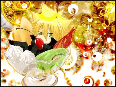 GIOTTO (PRIMO)FROM KATEKYO HITMAN REBORN^^ !!! Hope Ты like it :)