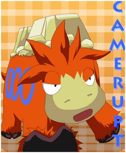 I am a proud Pokemon addict! I am female! I have the same name as my favorite character who is the oppisite gender from me. I have his personality as well. My favorite Pokemon is easily Camerupt!!!
