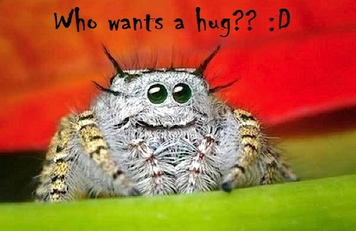 Adorable spin wants a hug too ^-^ u two could partner XD