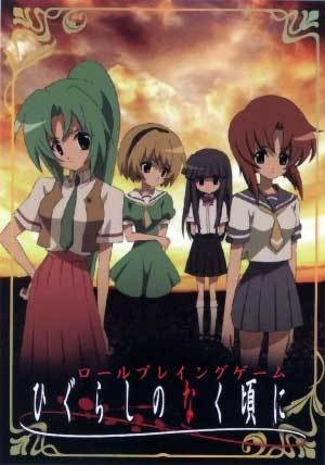 I think that Higurashi No Naku Koro Ni would be a good addition too. It's dubbed and is quite.. violent. It also has mysterious elements and sadness that adds to the drama.
