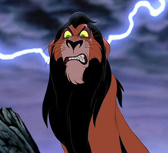 """Scar from """"The Lion King"""""""
