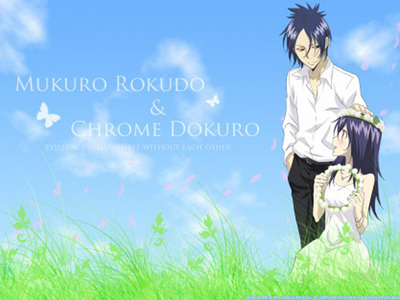 Are 2 characters allowed? Please This is Mukuro and Nagi (Chrome)from KHR!