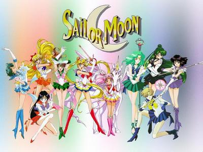 Sailor Moon. It's a real awesome girl anime!! i really, over it! It's my fave!! The sailors of all kinds of planets. It's very awesome! Has some drama, humor, romance! It's funny and often romantic!! I really recommend!!