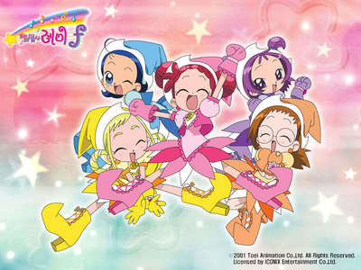 Sailor Moon Tokyo Mew Mew Magical DoReMi (In picture) Mermaid Melody