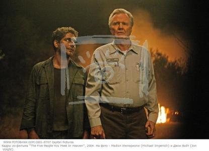 My 收藏夹 are The Five People 你 Meet in Heaven and For One 更多 Day. Here's Jon Voight and Michael Imperioli in Five People.