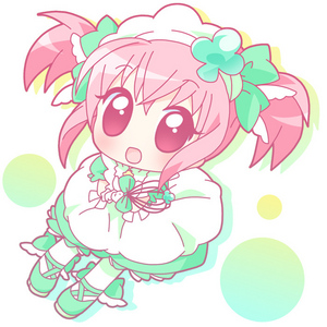 This is my kawaii clover girl ^_^