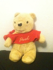 I've got at least five Pooh bears. I've had one of them for the entire eighteen years I've been alive. He's always been my snuggle pal, and he's always been there when I needed a hug. :)