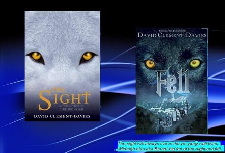 i have two 가장 좋아하는 The Sight and Fell. i also like the warrior cat books. (thanks to a friend who kept talking about it)