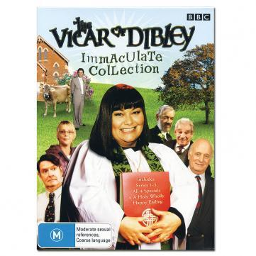 I watch My Vicar of Dibley box set it makes me laugh he he lol