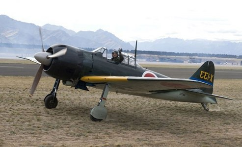Recently I have taken a bit of an interest in airplanes, especially the A6M zero. (The picture was flipped so the numbers are backwards...)