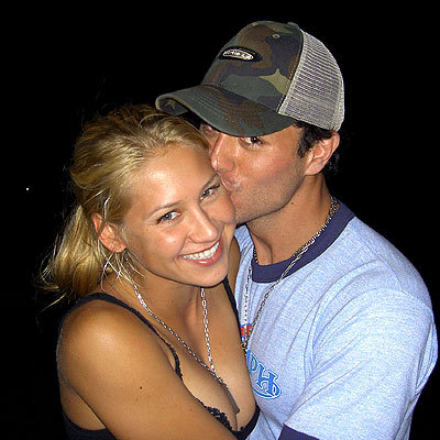 Enrique Iglesias and Anna Kournikova!!!