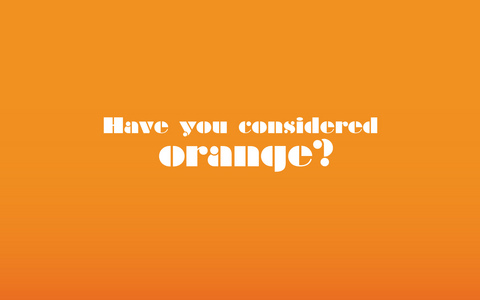 naranja all the way. I amor orange. It's a happy and playful color without being overly cheerful (like yellow).