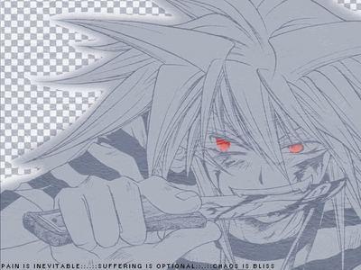 Bakura (Yu-Gi-Oh!)and Kenta (Chibi Vampire) thats all i can think of right now...