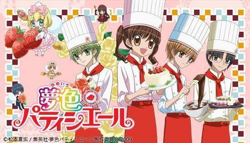 i think Yumeiro Patissiere and Yumeiro Patissiere Professional(season 2) is really good anime for girls..