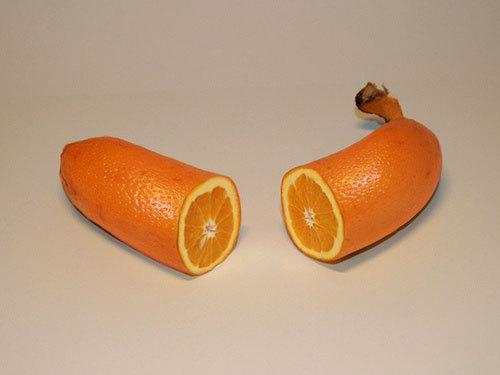 naranja mixed with yellow
